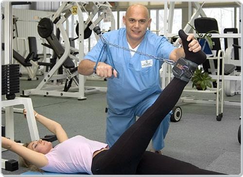 Кинезиотерапия коленного сустава в домашних условиях
