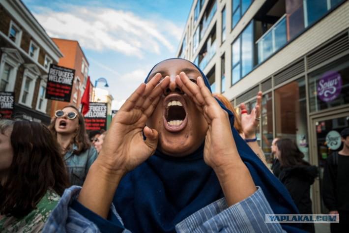 Мигранты в Британии: Белые д…