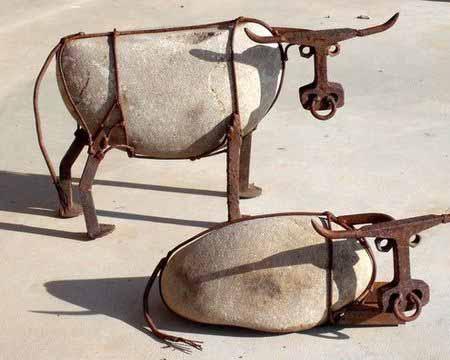 Поделки для дачи своими руками из камней