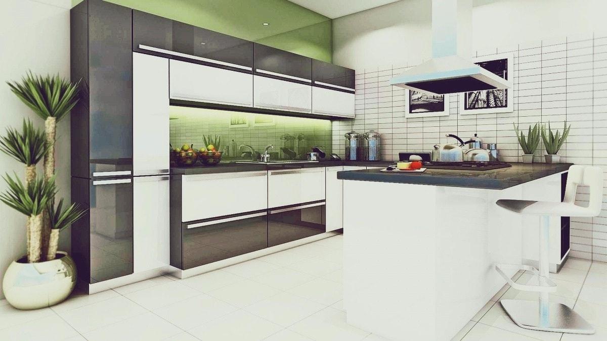 Довольно оригинальным решением освежить свой интерьер на кухне - является установка светодиодной подсветки