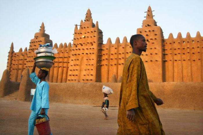 Наследие человечества-это самый красивый город в Мали.