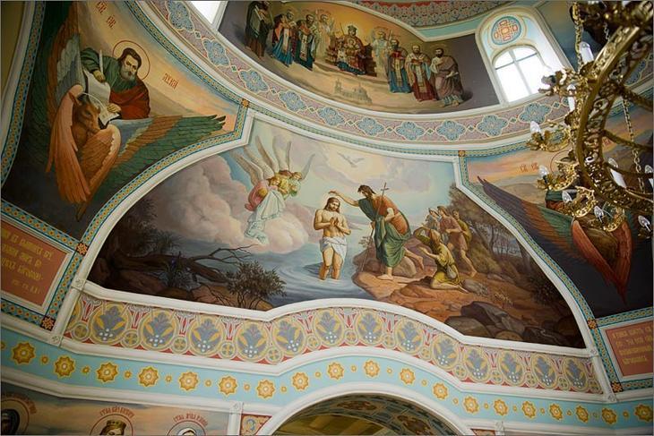 Настоящее чудо в лесах Подмосковья - храм Бориса и Глеба