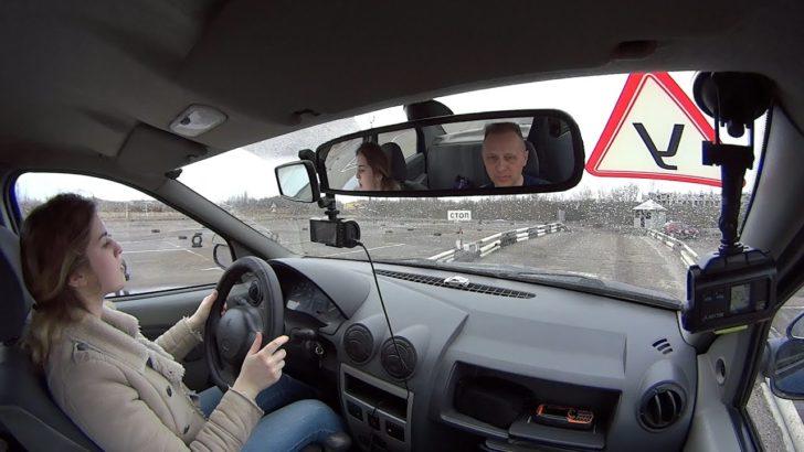 Мое первое занятие практической езды в автошколе, реально так и было!