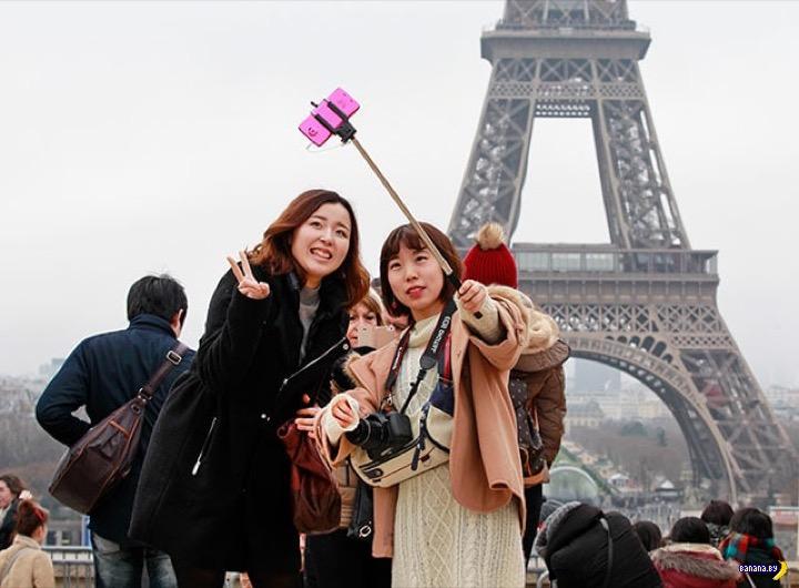 Приключение японцев в Париже
