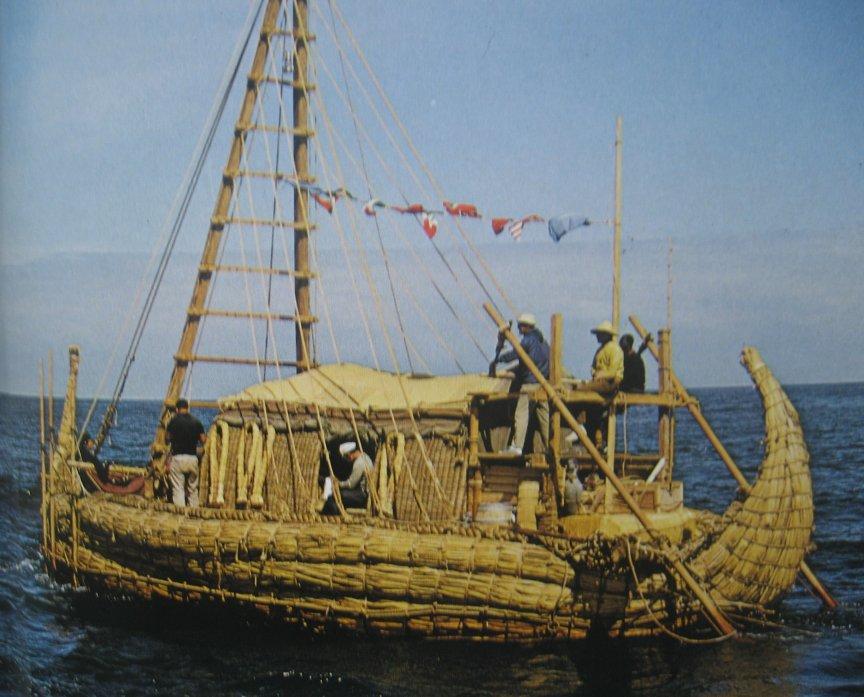 лодка из папируса тура