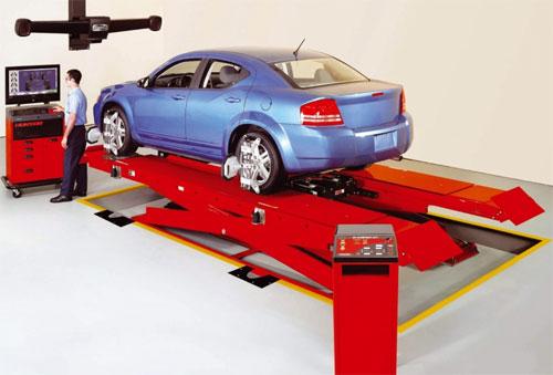 Развал-схождение колес автомобиля