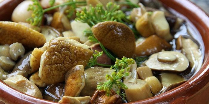 Маринад для грибов (опят, ма…