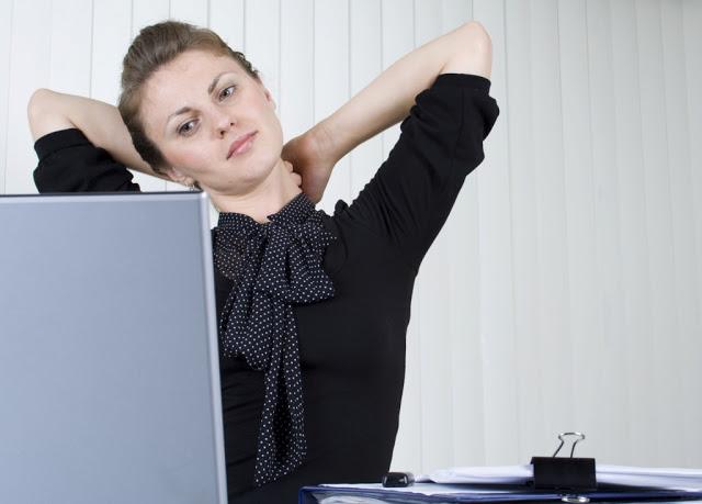 Упражнения для шеи, работающ…