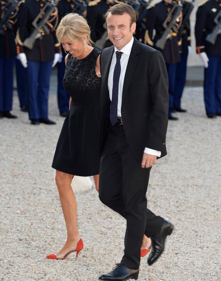 Бриджит Макрон одежда стиль