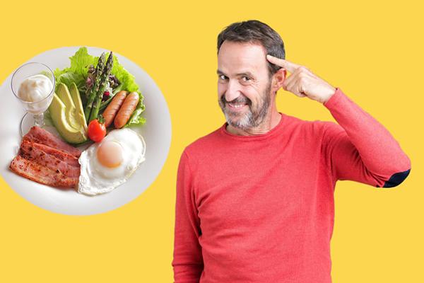 Низкоуглеводная диета улучшает память у людей старшего возраста