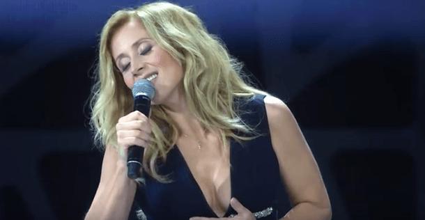 Лара Фабиан исполнила знаменитую песню Пугачевой
