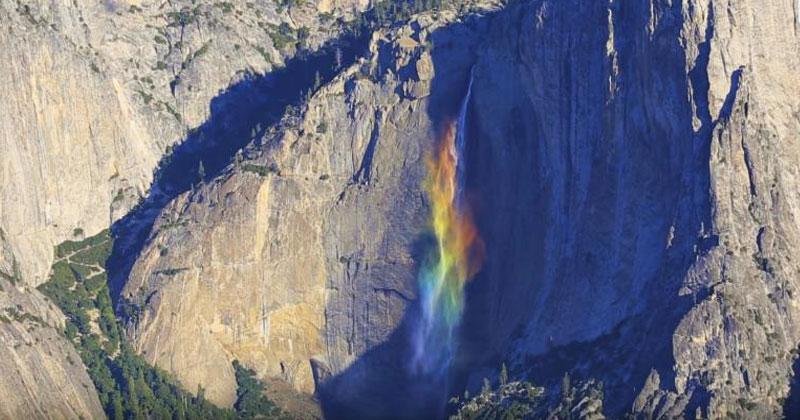 Радуга-водопад впечатлил миллионы зрителей в Сети. А вы уже видели это волшебство?