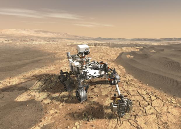Новый марсоход NASA получит 23 «глаза»