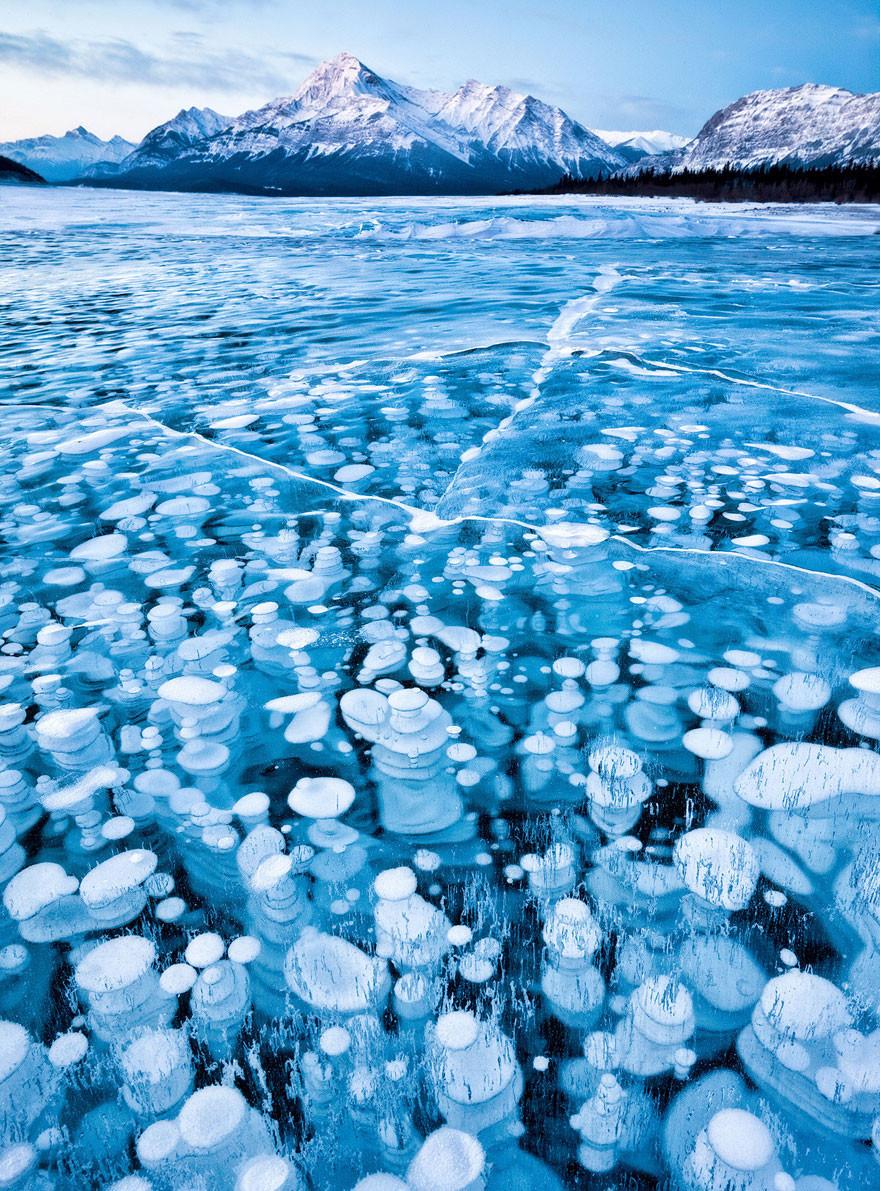 18. Водоем Эйбрахам, Канада земля, красота, планета, природа