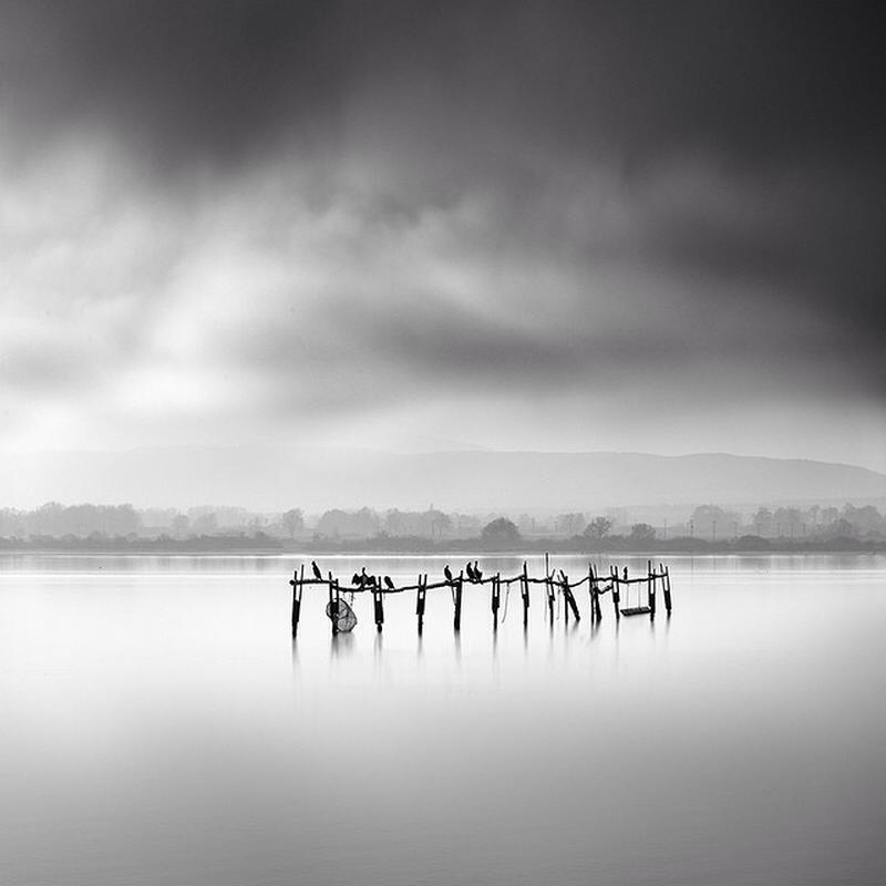 Чёрно-белые пейзажи, уходящие за пределы реальности. Фотограф Джордж Дигалакис 1