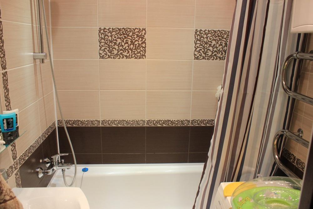 Ванная комната фото плитка коричневая