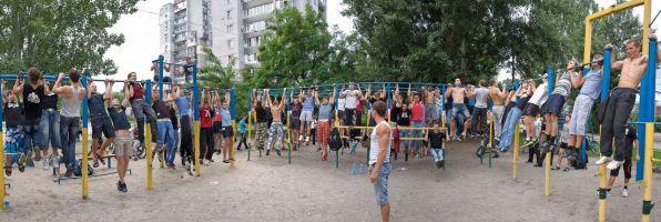 Street Workout в Днепропетровске Интервью с Денисом Мининым - Street Workot
