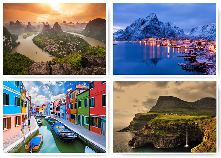 Крошечные города мира