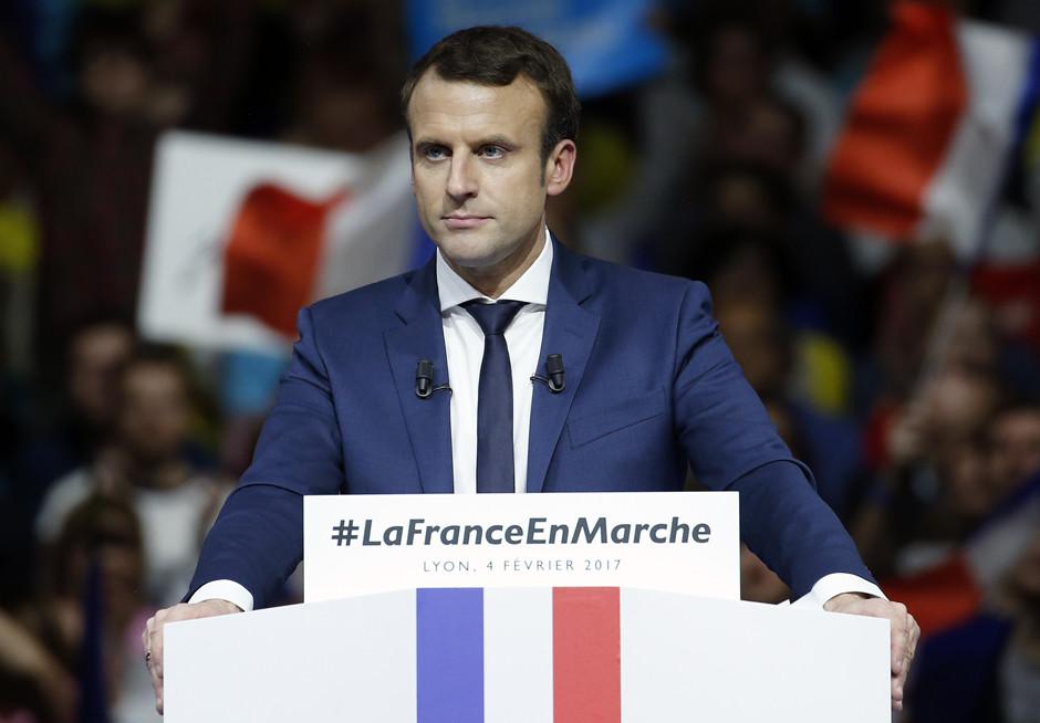 Эммануэль Макрон одержал победу на президентских выборах во Франции