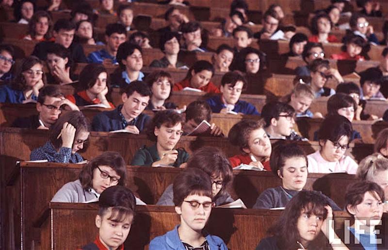 Как жила советская молодёжь в 1967 году. Снимал американский фотограф Билл Эппридж 50