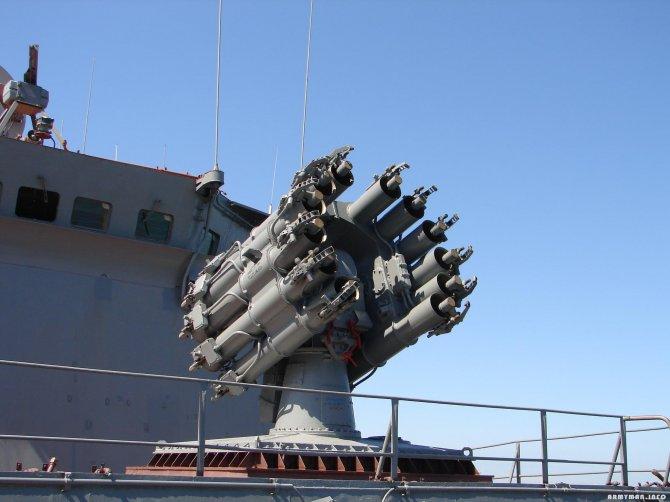 Российские сторожевые «Ястребы» получат модернизированные ракеты для РПК-8
