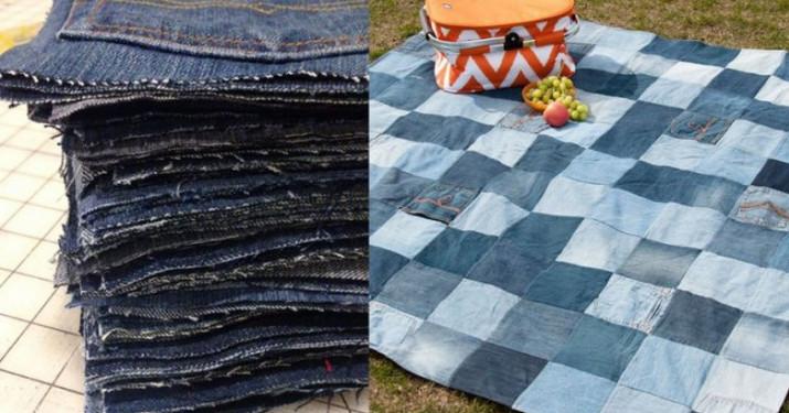 Хоть теперь никогда не выбрасывай старые джинсы... 25 эксклюзивных идей!