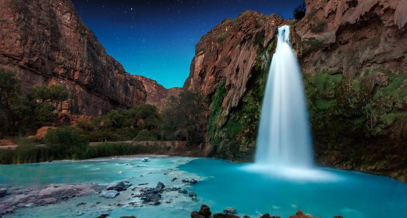 Самые живописные естественные бассейны мира