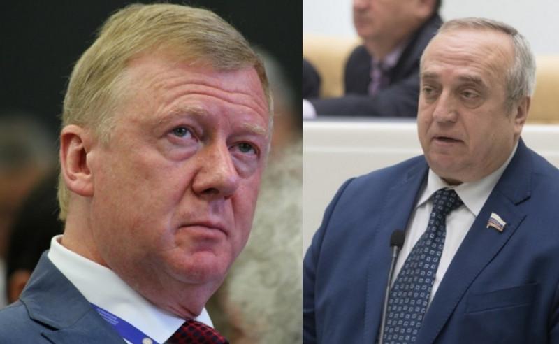 «Должен сказать спасибо? Да я б ему»: Клинцевич ответил обиженному за олигархов Чубайсу