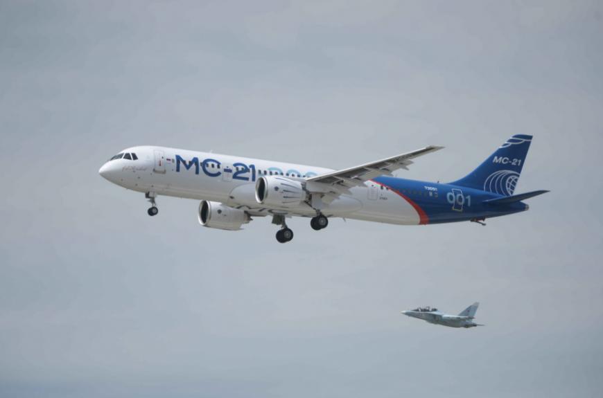 Forbes: санкции Запада помогут выйти российским МС-21 на мировой рынок
