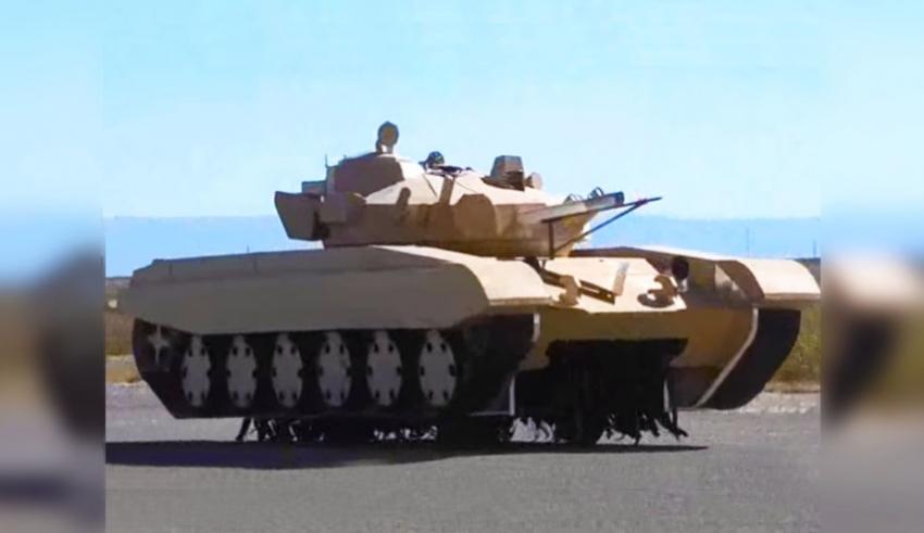 Бумажные советские танки на …