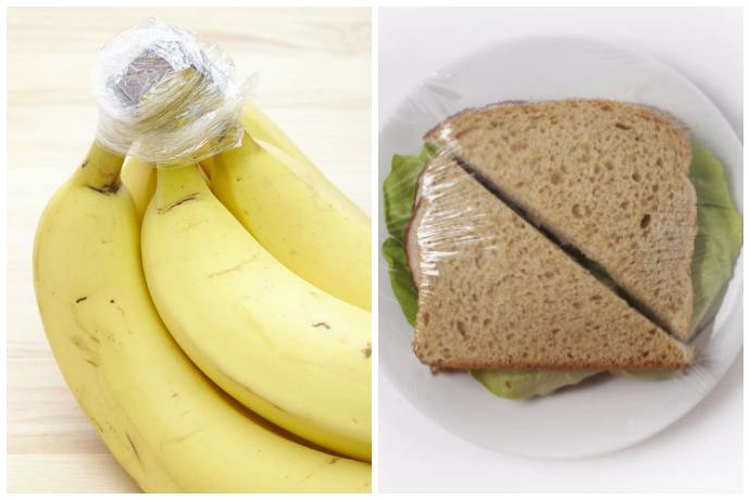 6 полезных способов использования пищевой пленки