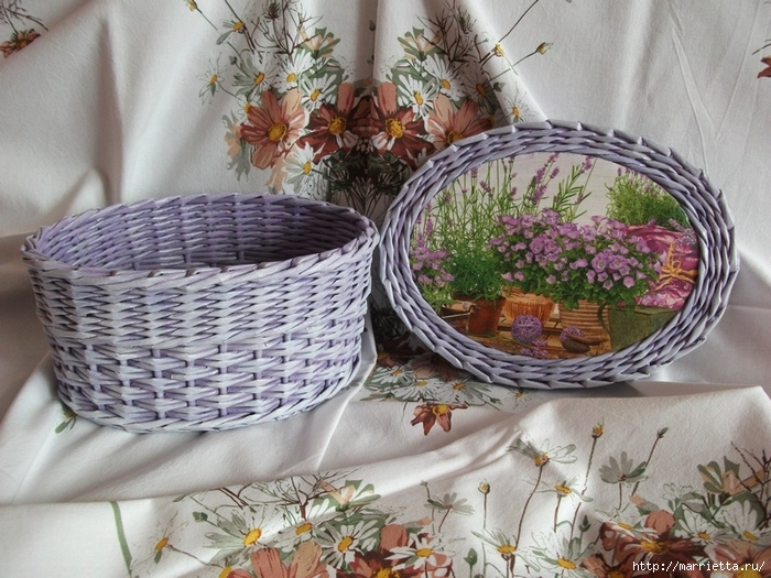 Плетение из газет. Идеи и мастер-класс на донышко плетенки (3) (700x525, 330Kb)