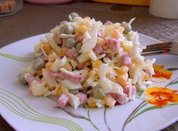 Вкусный салатикк праздничному столу. Просто и очень вкусно!