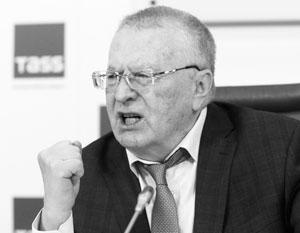 Жириновский потребовал отмен…