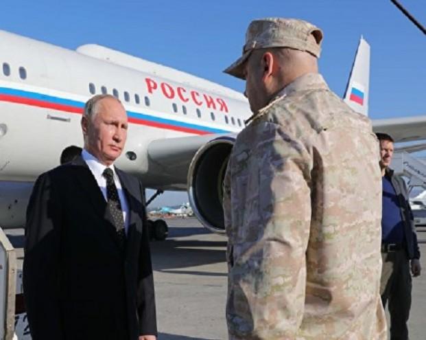 Политолог: поездка Путина в Сирию стала для Запада шоком