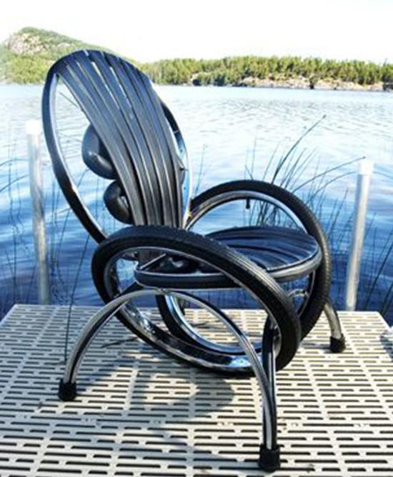3. Из покрышек вообще получаются отличные стулья интересно, покрышка, своими руками, сделай сам, фото