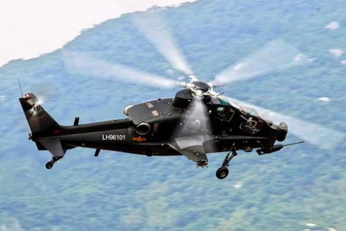 КБ «Камова» занималось проектированием китайского ударного вертолета WZ-10