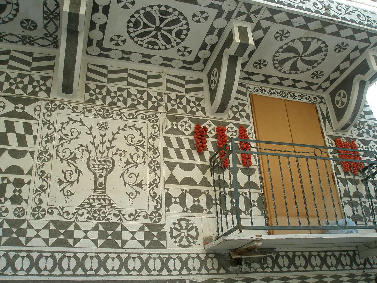 СтройРемПлан. Сграффито — необыкновенная технология декора