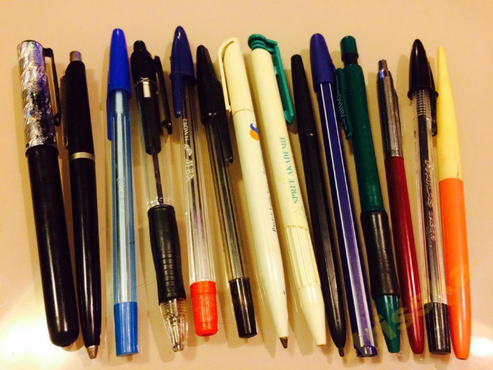Не пишущие ручки.