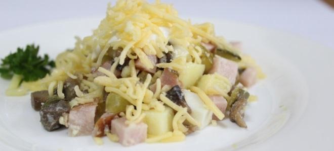 Рецепт салата мужской каприз с курицей