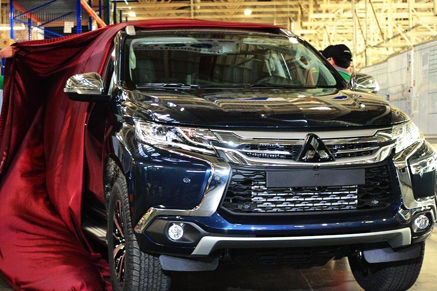 В Калуге начато производство обновленного Mitsubishi Pajero Sport