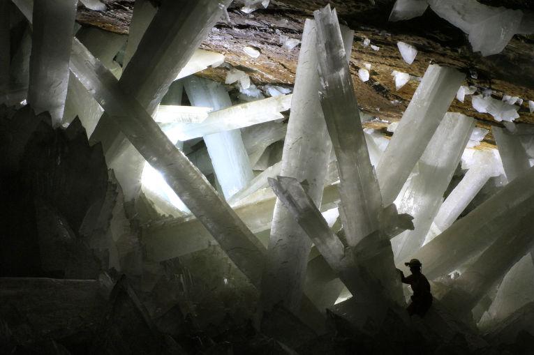 Пещера Найка в Мексике