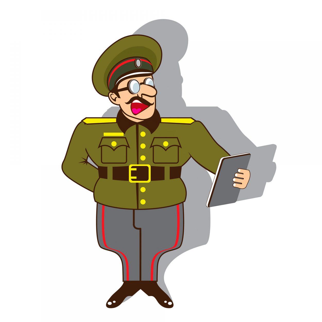Прикольный анекдот про то, чему учат будущих офицеров