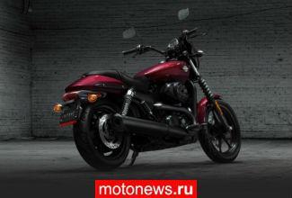 Harley-Davidson отзывает партию Street 500 и 750