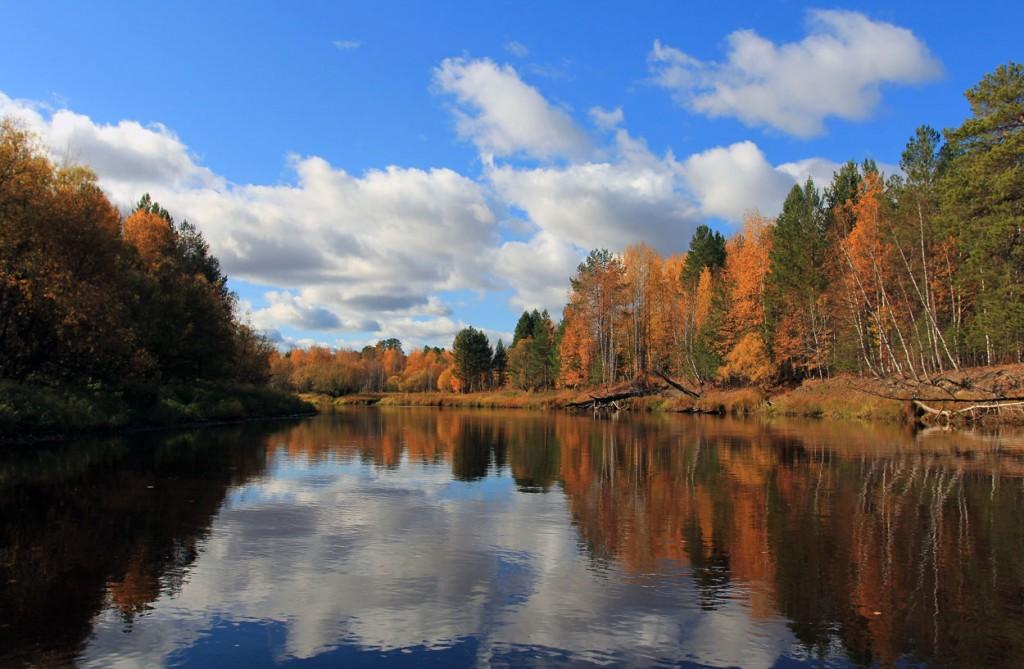 Осень на реке...