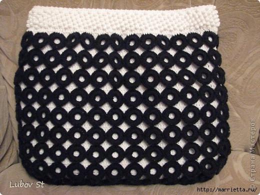 Сумочка из колец с бисером. Вязание крючком без отрыва ниток (23) (520x390, 156Kb)
