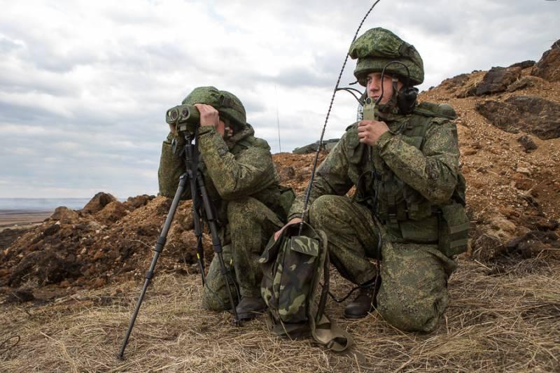 На учении разведчики применили новейший КРУС «Стрелец» и экипировку «Ратник»