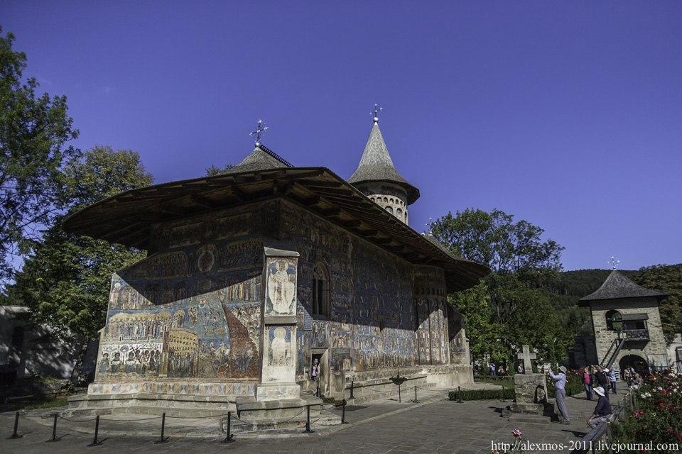 Расписные церкви Румынии