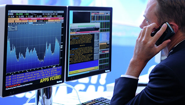 Рынок акций РФ открылся снижением ММВБ на 0,2% и РТС - на 0,5%