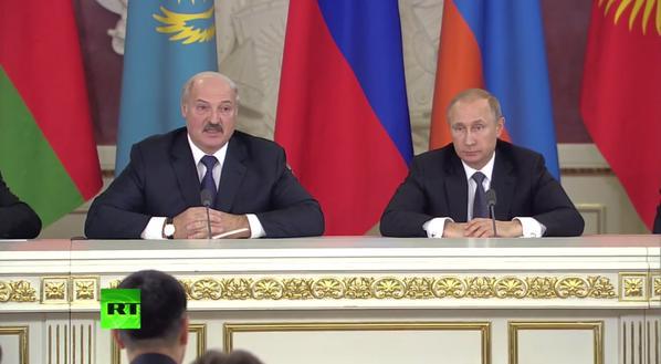 Лукашенко превратил пресс-конференцию стран ЕАЭС в личную и устроил концерт имени себя любимого
